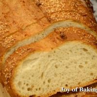 Artisan white bread